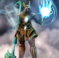 Nasus The Curator of the Sands by cicakkia