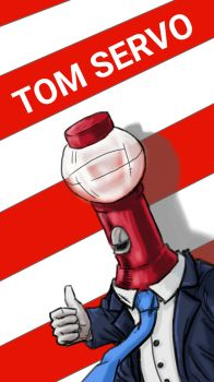 July 4th Tom Servo  by sagejester