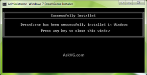 Windows 7 DreamScene Installer by Vishal-Gupta