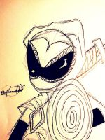 Point Commission :  White Ninja by vaness96