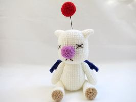 Amigurumi Final Fantasy X Moogle Doll 1 by MevvSan