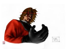 K.O.F. Rugal_colored by kechap