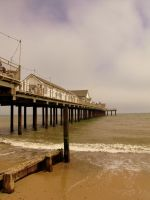 The Pier. by HaanaArt