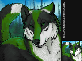 Portrait Icon: Orphic by CunningFox
