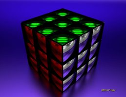 Rubiks Mirror by fractalyst