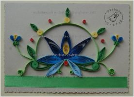 Quilling - Card 9 by Eti-chan