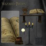 Wizard Props by zememz