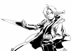 Request: Edward Elric by Ikexkun