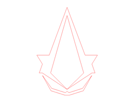 Assassin's Creed Insignia AutoCAD by GKing2100