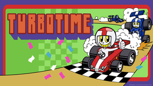 Turbotime wallpaper by Turbotastique