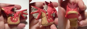 Shiny Gyarados Jizo by ChibiSilverWings