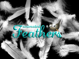 Feathers GIMP Brush by CindaLawrencers