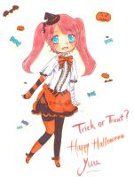 Contest- Yuu's halloween dress by kilari-chan