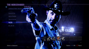 Rick Grimes in Resident Evil 6 by RPGxplay