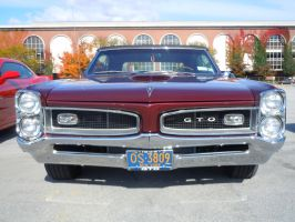 1966 Pontiac GTO Convertible by Brooklyn47
