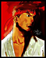 Legend of Street Fighter - Ryu by King-Arsalan-Monawar