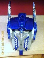 optimus prime helmet by TIMECON