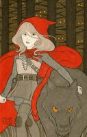 Red Riding Hood by zumart