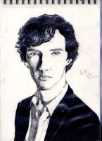 Benedict cumberbatch by thiphobia