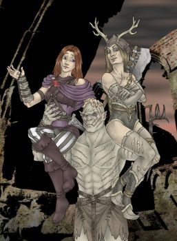 Orc-Wives by Michelangeline