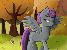 Mist in the Wind by CresentBladedBrony