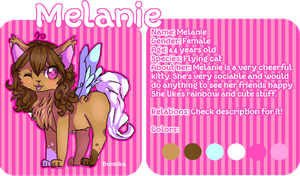 Melanie Ref Sheet by bonnika