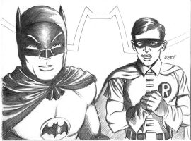 The REAL Batman and Robin by LostonWallace