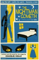The Nightman Cometh poster by markwelser