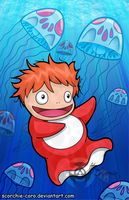 Ponyo by Scorchie-Critter