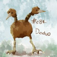 084 - Doduo by oddsocket