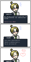 America+Xland APH Dating Sim by Konata101