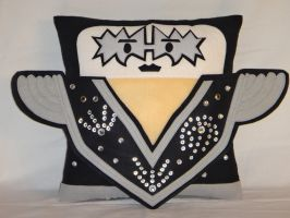 Handmade KISS Band Tommy Thayer v1.43 Pillow by RbitencourtUSA