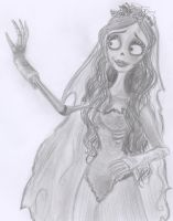 Our lovely Corpse Bride by Lilostitchfan