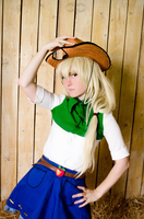 EG AppleJack Cosplay by GeiYin