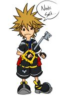 Sora Eat KEYBLADE by Neo-Geo87