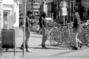 Streetcorner boys by steppeland