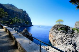 West coast of Mallorca by SteffenHa