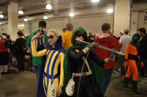 BostonComicCon 2012: Piper and Trickster! by DummyPlug7
