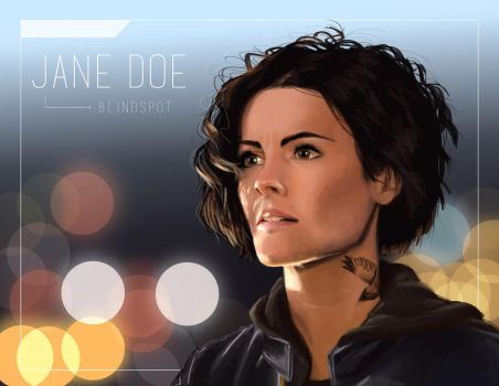 Jane Doe by CourtElz