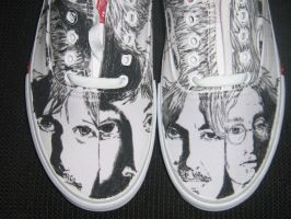 another Beatles sneaker frnt1 by brolicdesigns