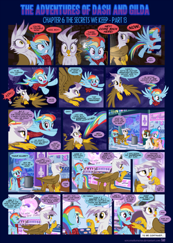 Dash Academy 6- The Secrets We Keep 13 by SorcerusHorserus