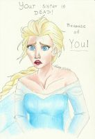 Because of you! by ElvenWarrior14