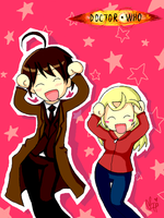 Doctor Who Caramelldansen by moppistrawberry