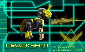 Crackshot: armor edition by wolf117M