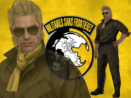 Kaz Miller (Metal Gear Solid: Peace Walker) by DaBiggieK