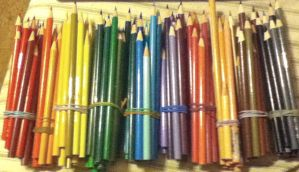 All My Colored Pencils by ninjalove134