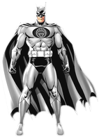 White Lantern Batman by KalEl7