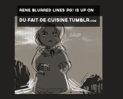 Rene Blurred Lines Pg8 by dieingcity
