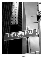 The Town Hall Way by Ania-Riz