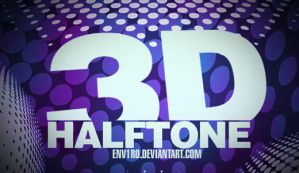 GIMP 3D Haltone Brushes by Graphicclouds